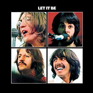 The Beatles Let It Be album cover