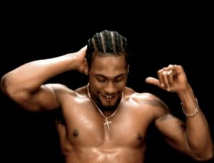 Photo of D'Angelo from his music video Untitled